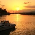 1日31日田子の浦埠頭からの夕暮れ~ 富士山はダメでしたが、西側が綺麗でした(^ ^)