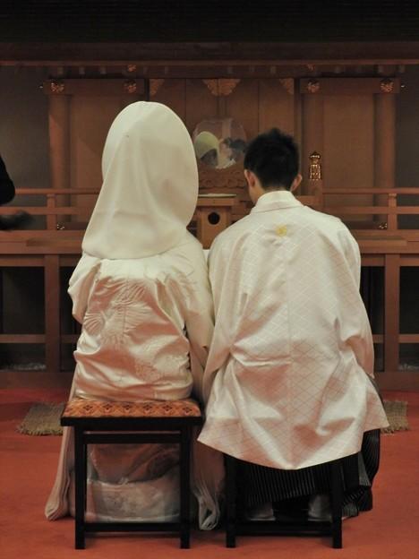 娘の結婚10 前撮り(白無垢)