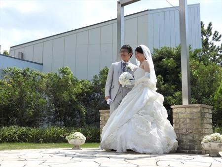 娘の結婚13 ガーデン