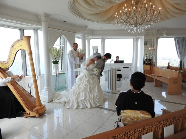 娘の結婚17 スカイチャペル(リハ)