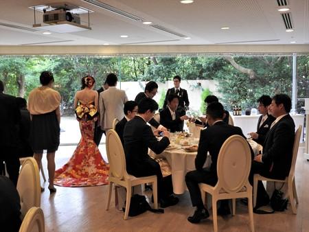 娘の結婚19 披露宴お色直し(和ドレス)