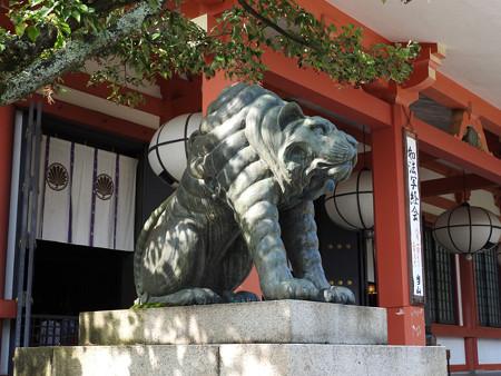 鞍馬寺32 阿「吽」の虎