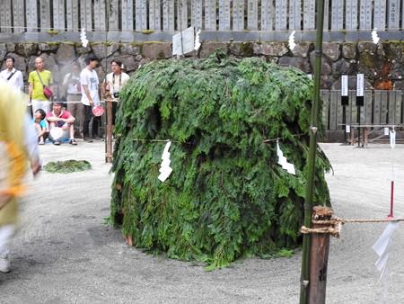 狸谷山不動院 火渡り祭01 柴灯護摩壇