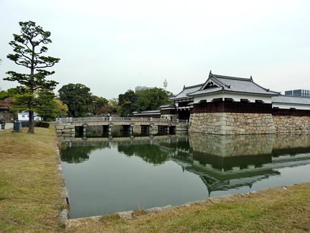 広島城02 御門橋
