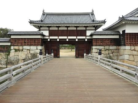 広島城11  二の丸御門橋