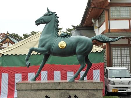 広島城22  広島護国神社