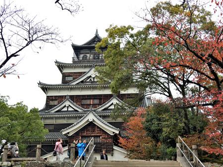 広島城24 「紅塵背指すれば鯉魚の城」