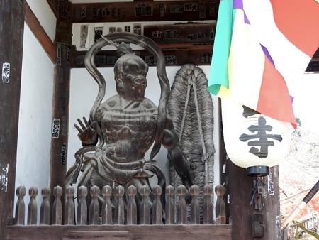 石山寺 東大門 仁王吽形1