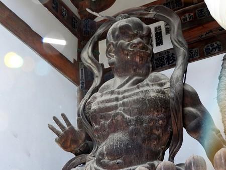 石山寺 東大門 仁王吽形2