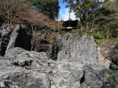 石山寺39 天然記念物 珪灰石2