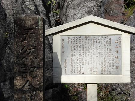 石山寺41 天然記念物 珪灰石由緒