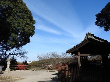 石山寺78 芭蕉庵と月見亭の間の建物