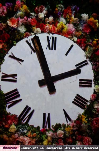 Photos: 花時計