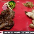 Photos: お肉とお野菜のステーキ