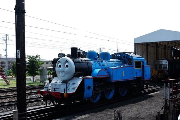2014.07.28 大井川鉄道・新金谷駅 機関車トーマス