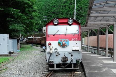 2014.07.28 あぷとライン井川線 クハ600形先頭車