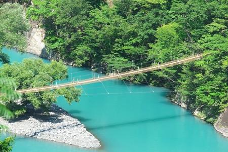2014.07.29 寸又峡温泉 夢の吊橋