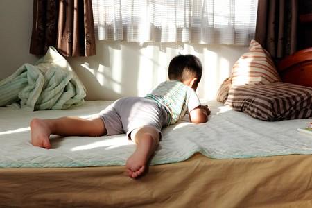2014.08.02 寝室 王子の朝