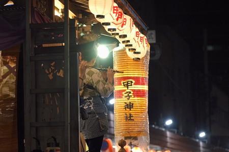 2014.08.03 甲子祭 祭囃子 笛