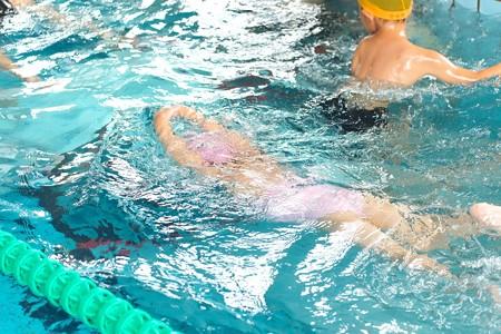 2014.08.05 越後 水泳教室に通う姫