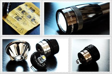 2014.09.13 机 ミニマグライト2AA LED化
