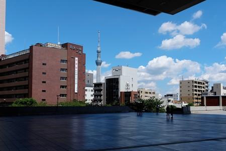 2014.09.14 江戸東京博物館からスカイツリー