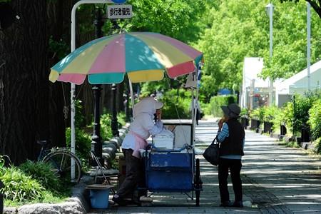 2016.05.18 山手 山下公園 アイスクリーム屋さん