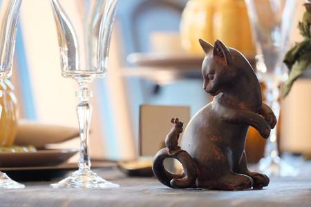 2016.10.26 ベーリック・ホール 食卓 サウィン祭 猫と鼠