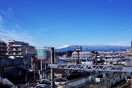 2016.11.25 駅前 富士山