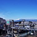 Photos: 2016.11.25 駅前 富士山