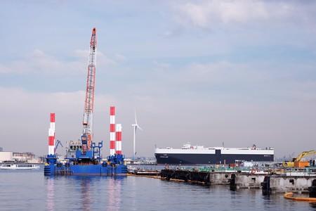 2016.12.12 みなとみらい 自動車運搬船 「 GREEN LAKE 」