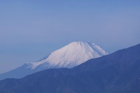 2016.12.12 駅前 富士山