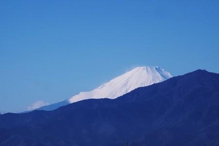 2016.12.17 駅前 富士山