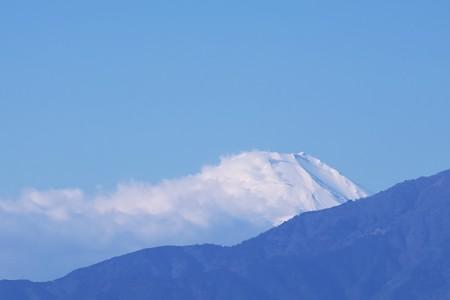 2017.01.05 駅前 富士山