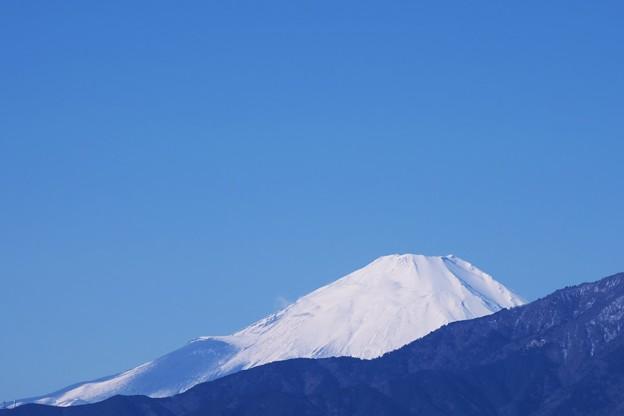 2017.01.24 駅前 富士山