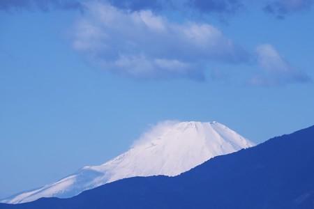 2017.02.21 駅前 富士山