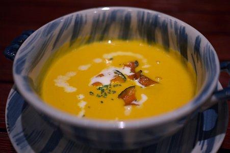 2010.11.20 横浜ベイシェラトン ホテル ランチ スープ