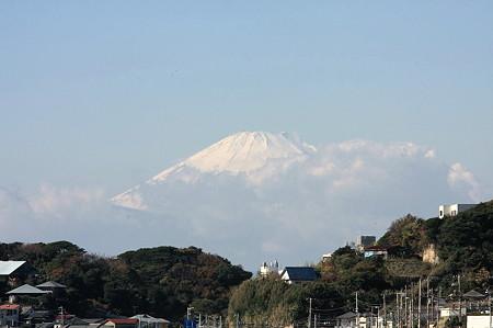2010.11.29 鎌倉 七里ヶ浜から富士