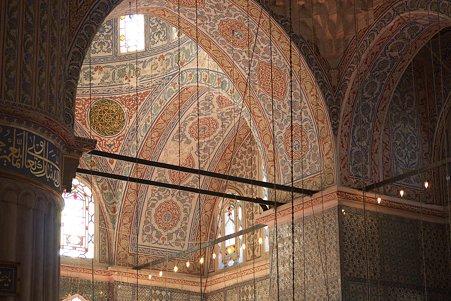 2011.01.27 トルコ イスタンブル スルタンアフメト・モスク アーチ