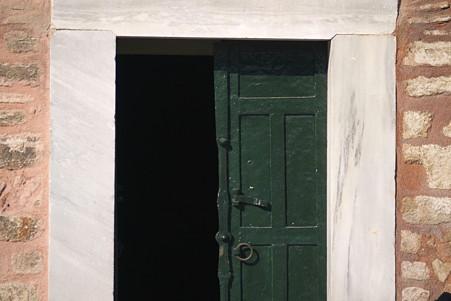 2011.01.27 トルコ イスタンブル トプカプ宮殿 緑色のドア