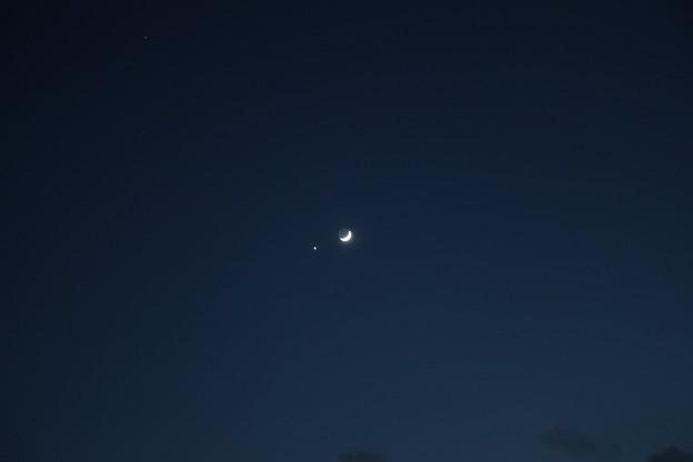月と金星 大接近