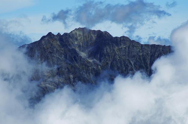 乗鞍岳から穂高
