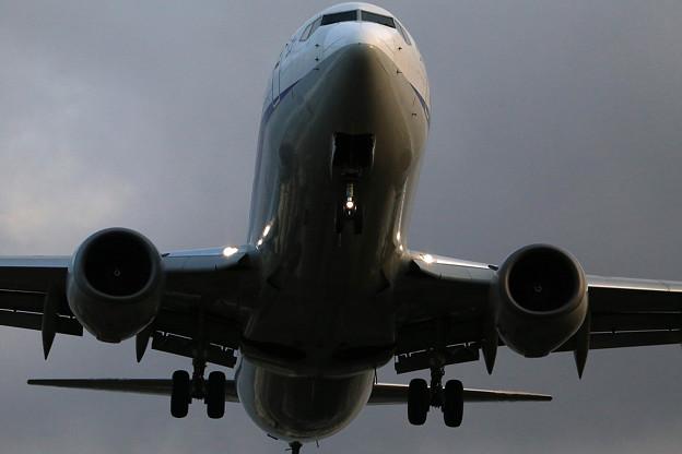 写真: 伊丹空港にて1