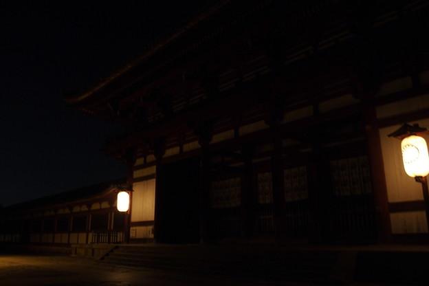 Photos: 夜中に
