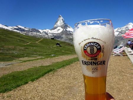 160718-20ビール&マッターホルン