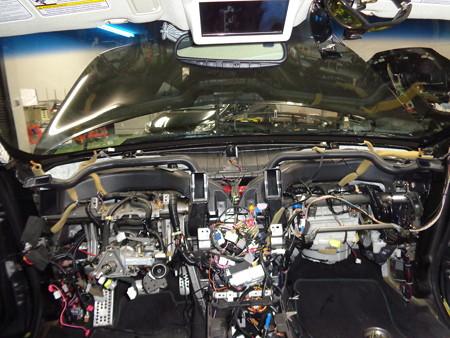 インフィニティFX35 石川県 ダッシュボード交換
