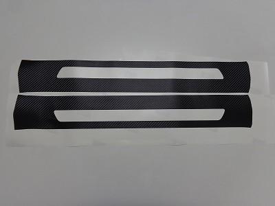 ハリアー60系 傷防止シート ステップパネル 左右2枚セット