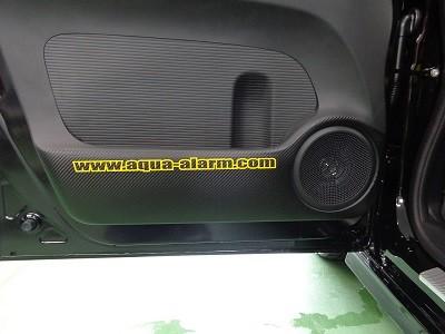 N-BOX ドアパネル傷防止シート 助手席