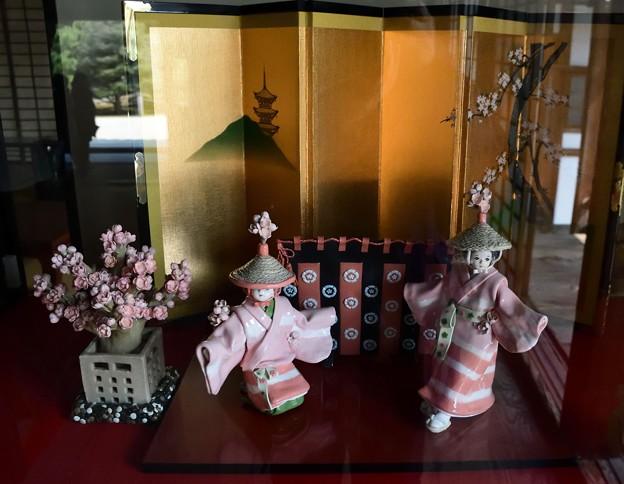はねず祭りのお人形作品