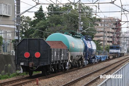 配6794レ EF65 2050+EF64 1004+コキx2+タキx2+トラ